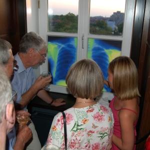 hans lungs in window