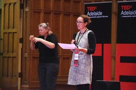 K TEDxAdelaide